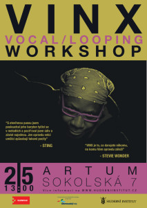 VINX - vocal and looping workshop Olomouc 2015